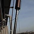 釣竿とHi-Q アンテナ